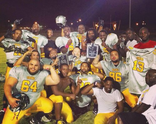Portland's Inner City Shine, a semi-pro 8-man football team, won a national championship over the weekend in Las Vegas. The ...