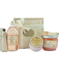 Lavender Apple Bliss Gift Set by Sabon $88 Smell lovely with this gift set that includes an oil, lotion, cream and more.