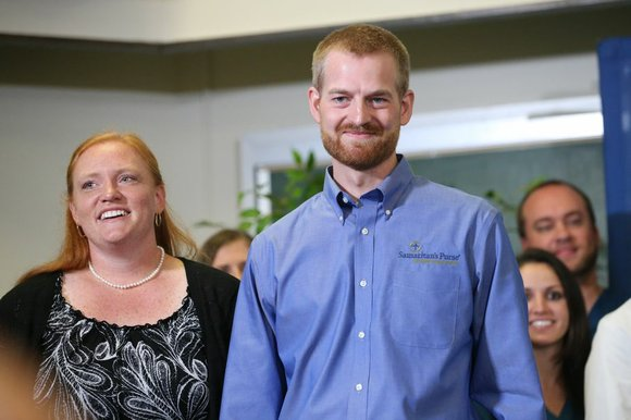 Dr. Kent Brantly and Nancy Writebol, both missionaries who were being treated at Emory University Hospital for infection by the ...