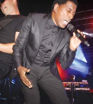 "Grammy winner Kenneth ""Babyface' Edmonds belts out a fan favorite."