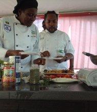 Chefs demonstrate blah blah blah