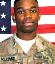 "PFC Errol ""Elijah"" Milliard was killed in combat in Afghanistan in 2013 while serving in the U.S. Army."