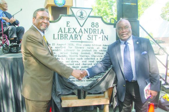 More than 100 men, women and children gathered recently to mark the 75th anniversary of the Alexandria Library Sit-in – ...