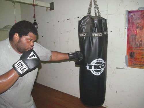 Former Jefferson footballer looks to make it big in the boxing ring.
