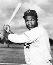 """Jack Roosevelt """"Jackie"""" Robinson was an American baseball player who became the first African American to play in Major League Baseball. The Jackie Robinson West All Stars Little Little League team, created by Joseph Haley in 1971, was named in his honor."""