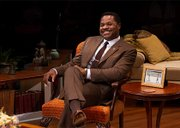 Malcolm-Jamal Warner in the Huntington Theatre's Guess Who's Coming to Dinner.