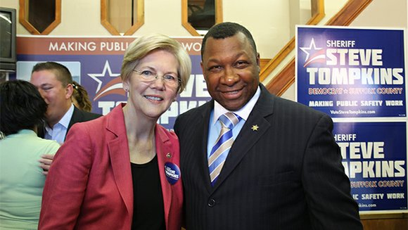 Sheriff Steve Tompkins secured the endorsement of U.S. Sen. Elizabeth Warren. Meanwhile, local state reps. and senators are facing few ...