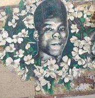 Mural of Yusef Hawkins on Verona Street and Bed‑Stuy (Nosayaba Odesanya photo)