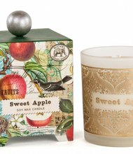 A beautifully boxed scented candle by Michael Design Works