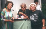 Members of the Council of Jazz Advocates and co-founders of the Tony Williams Scholarship Jazz Festival are: the late Ronnie Wells, President, Thelma Anderson and the late Mildred Twitty.