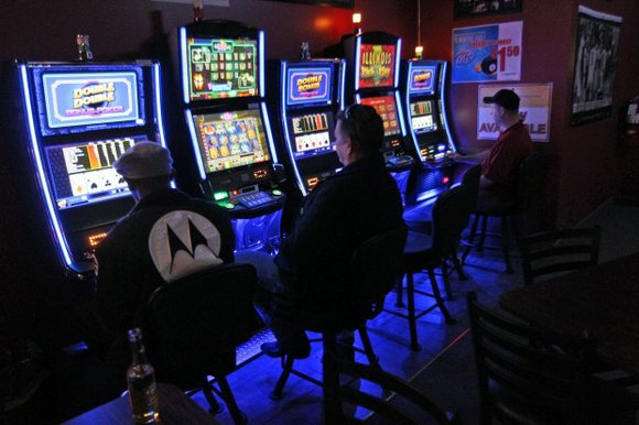 The payoff for municipalities that allow gaming machines is a cut of the state's take -- $87 million as of ...