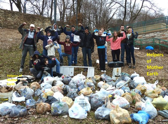 Virgil Kemp, a Joliet resident and member of Helpers of Mother Earth, lauds Councilman Jim McFarland's criticism of the unkempt ...