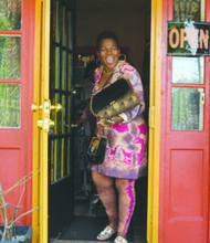 "Juanita ""Busy Bee"" Britton, owner of the Anacostia Art Gallery & Boutique in Southeast, has sold her popular business but will remain in operation until the end of October."