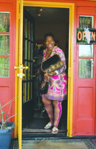 """Juanita """"Busy Bee"""" Britton, owner of the Anacostia Art Gallery & Boutique in Southeast, has sold her popular business but will remain in operation until the end of October."""