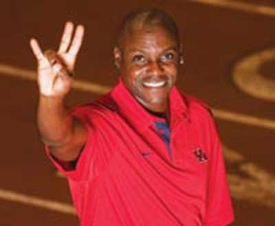 After volunteering as a coach for the University of Houston during the 2013-2014 season track and field star and ten-time ...