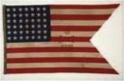 Cavalry Buffalo Soldiers Parade Flag, ca. 1889. Courtesy of the collection of Bernard and Shirley Kinsey