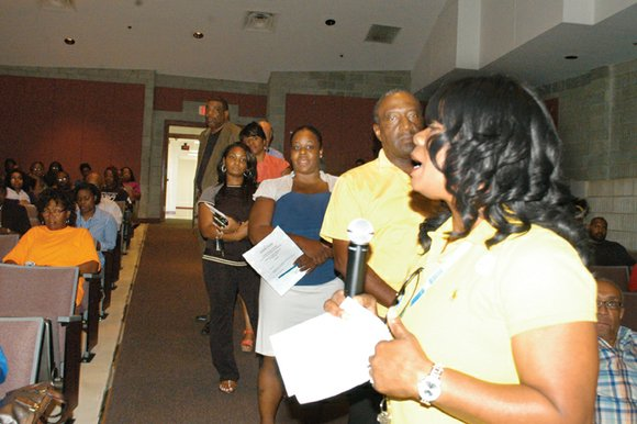 Parents, teachers and stakeholders were full of questions on Sept. 2 when the DeKalb School System held its charter district ...
