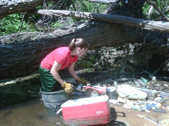 Volunteers are needed on Sept. 20 to help clean up Nancy Creek in Doraville.