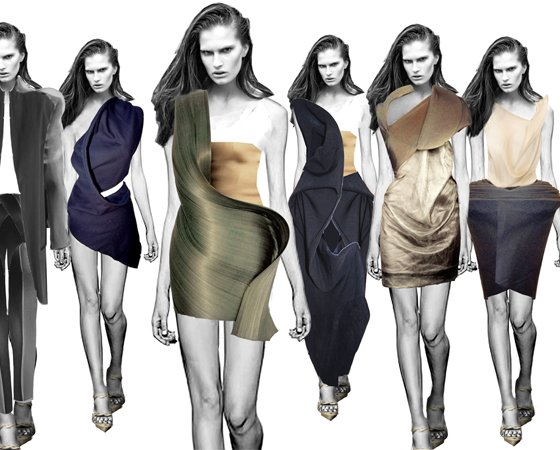 Forget smart watches and get ready for solar dresses, 3D-printed bras and GPS-enabled blazers.
