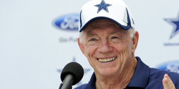 Jana Weckerly filed a lawsuit against Jerry Jones seeking more than $1 million.