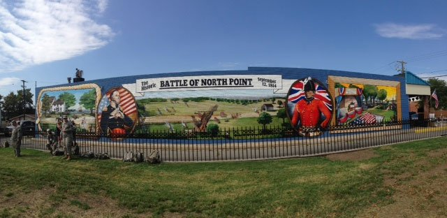 Baltimore County Dedicates 1812 Home Of The Brave Mural To Honor