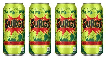 Coca-Cola put a limited supply of Surge up for sale on Amazon Monday.
