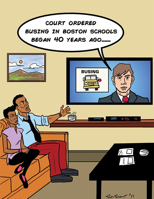 """""""Whites committed the offense, but they want to blame blacks for court-ordered busing!"""""""