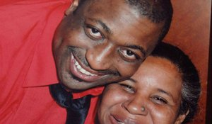 Eric Garner and wife Esaw Garner