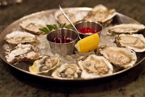 Wine gets 'terroir' from its surroundings; oysters get 'merroir'. Oysters taste distinctly depending on where they're grown