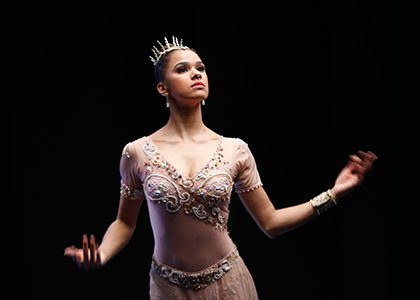 "American Ballet Theatre principal dancer Misty Copeland's latest book ""Ballerina Body"" has hit bookstores, and her excitement was palpable as ..."