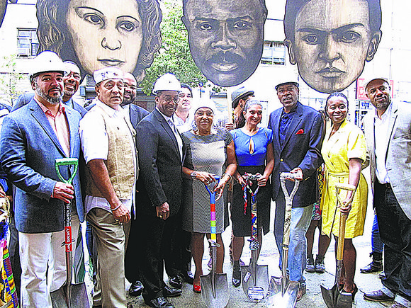The Caribbean Cultural Center African Diaspora Institute recently broke ground at the former firehouse at 120 E. 125th St., which ...