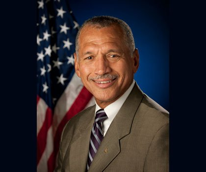 The Honorable Charles F. Bolden, Jr., 12th Administrator and first African-American to lead the National Aeronautics and Space Administration (NASA), ...
