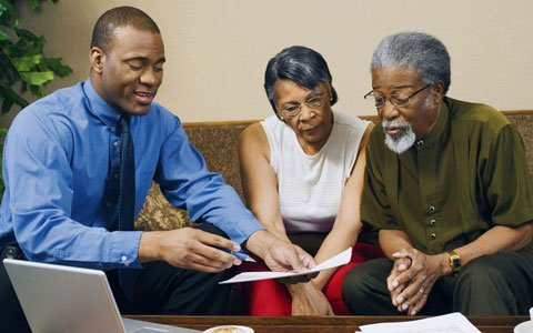 Finally, there is some encouraging financial news for African Americans and Latinos.