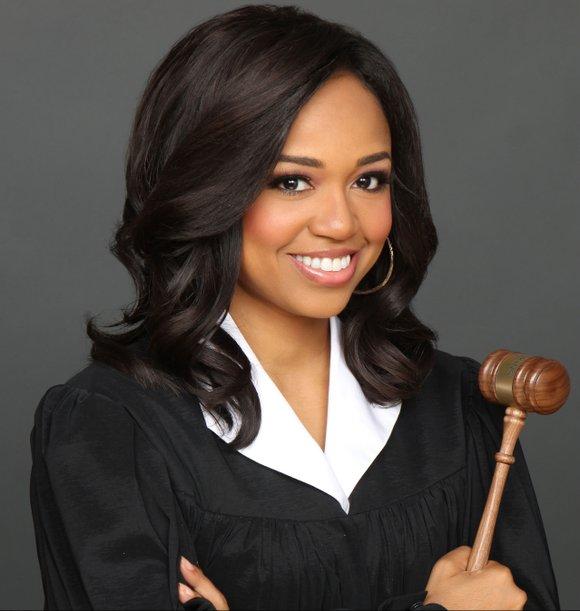 She may be the youngest TV judge ever but former New York prosecutor Faith Jenkins isn't playing any games in ...