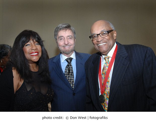 Mary Wilson of the Supremes, John Drew CEO of ABCD and Hubie Jones.