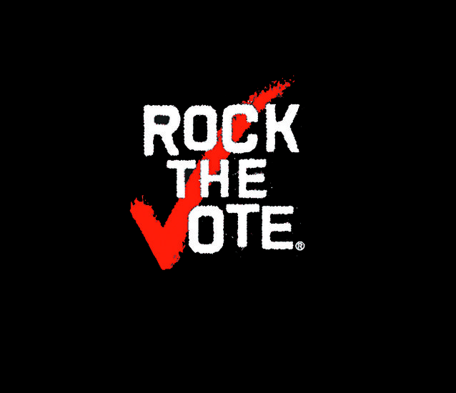 Image result for ROCK THE VOTE