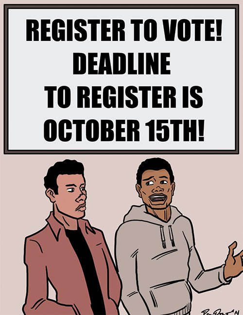 """""""You better register. Ferguson shows you what happens when people don't vote."""""""