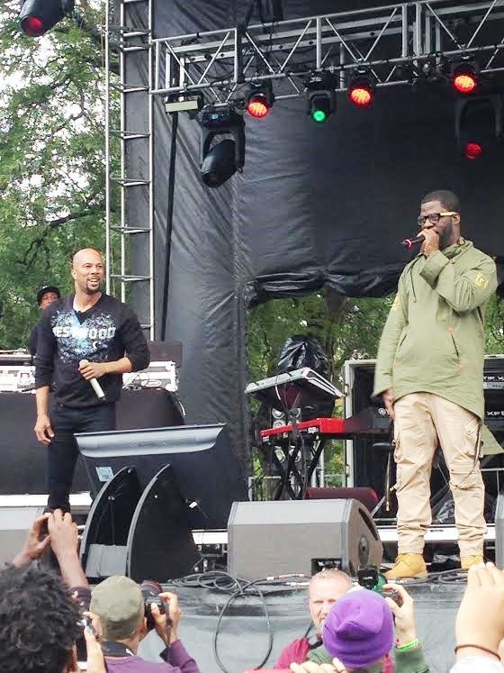 "The AAHH! FEST presented by Chicago rappers Common, Kanye West and Che ""Rhymefest"" Smith on September 21 at Union Park, 501 W. Randolph St., provided a platform for local artists to showcase their talents and promoted peace and positivity."