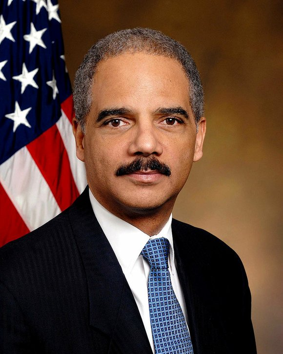 Columbia Law School alum and former U.S. Attorney General Eric Holder is delivers the keynote address at Columbia Law School's ...