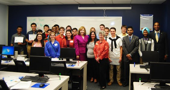 Last week 20 students from Howard County Public School System's Cybersecurity Networking Academy got a special treat when Firoozeh Azarbaidjani-Do, ...