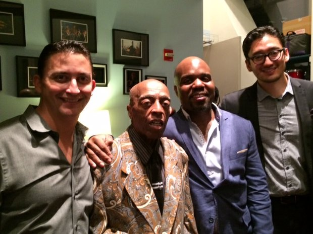 The Fountain of Youth band, L to R: Martin Bejerano, Jaleel Shaw, Roy Haynes and David Wong