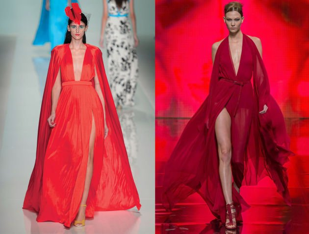 Donna Karan PR Calls Out Ungaro for Showing Similar-Looking Gown ...