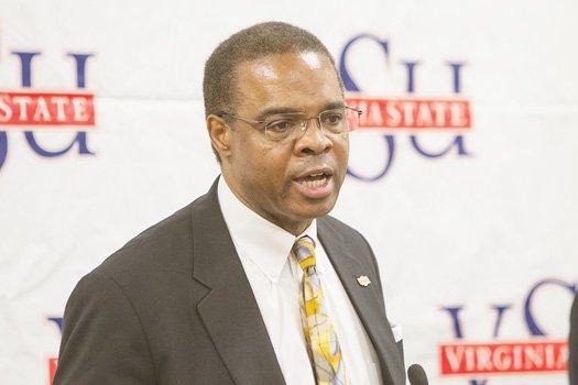 VSU President Keith T. Miller