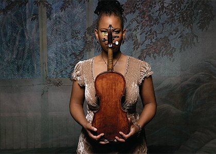 MacArthur Genius grant-winner Regina Carter dug into her roots in African, African American and Southern music.