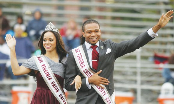 Virginia Union University's homecoming this weekend should be a memorable affair.