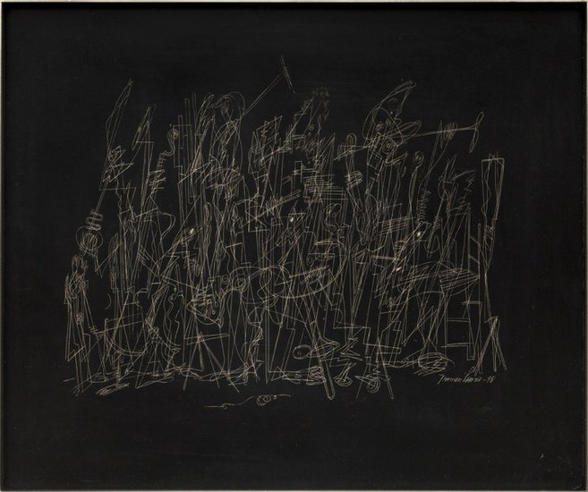 Jewish Museum Showcases Black Abstract Expressionist Painter