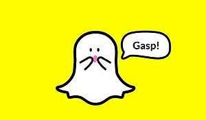 The photo-sharing app Snapchat offers a false sense of privacy by promising it will erase photos. Credit: