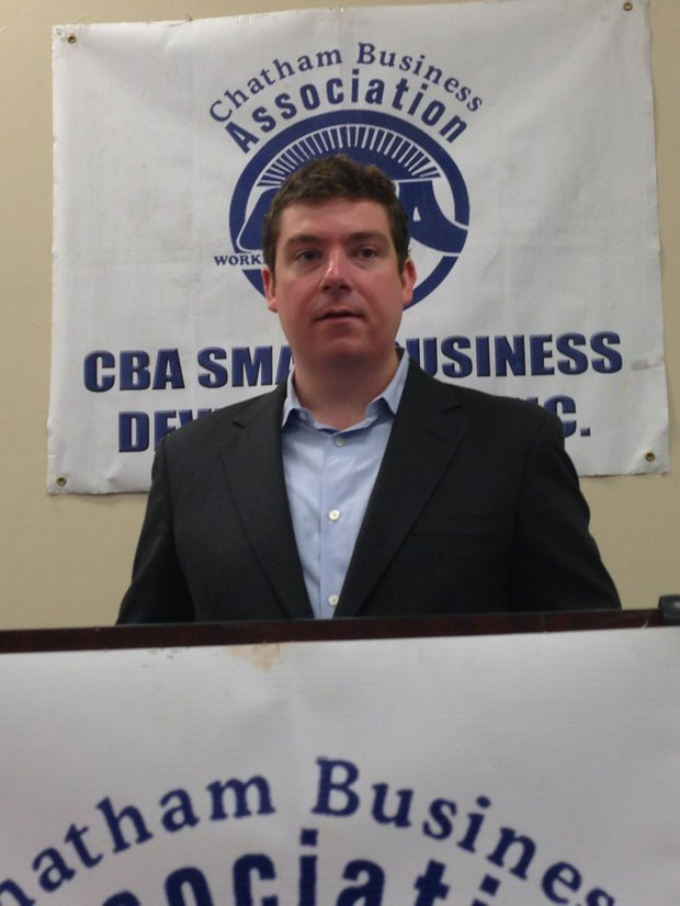 Dennis Foldenauer, Economic Development Specialist, Small Business Administration (SBA) Illinois District Office.