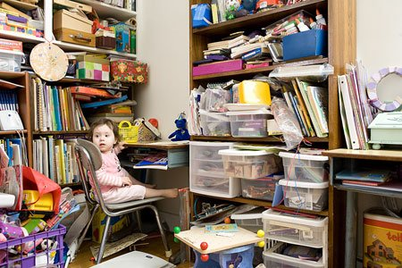 There is a good reason that professional organizers start their projects by first clearing out the cluttered space they're tackling. ...