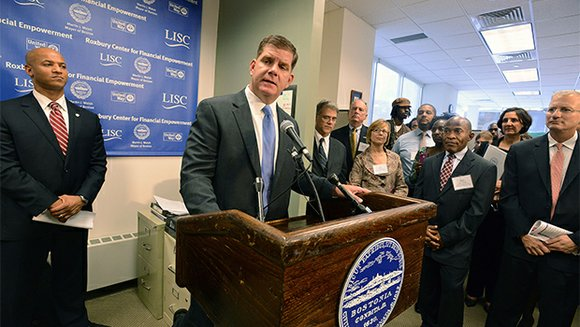 Mayor Martin Walsh has announced the opening of the Roxbury Center for Financial Empowerment in Dudley Square as part of ...